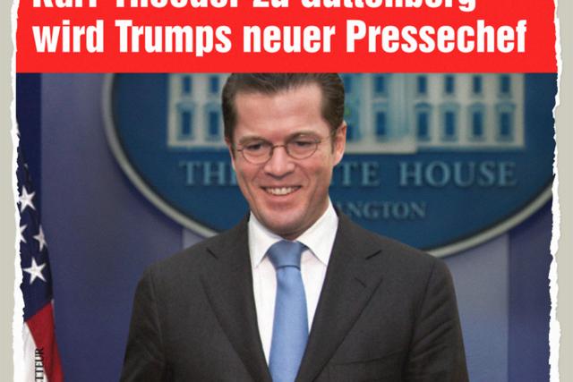 Trumps Guttenberg - Der Gazetteur