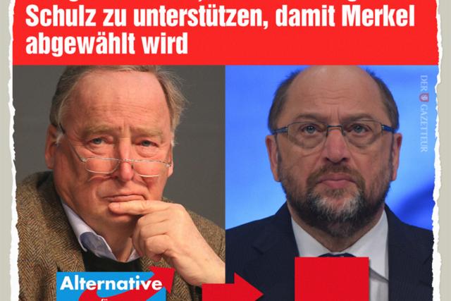 Merkel muss weg! - Der Gazetteur