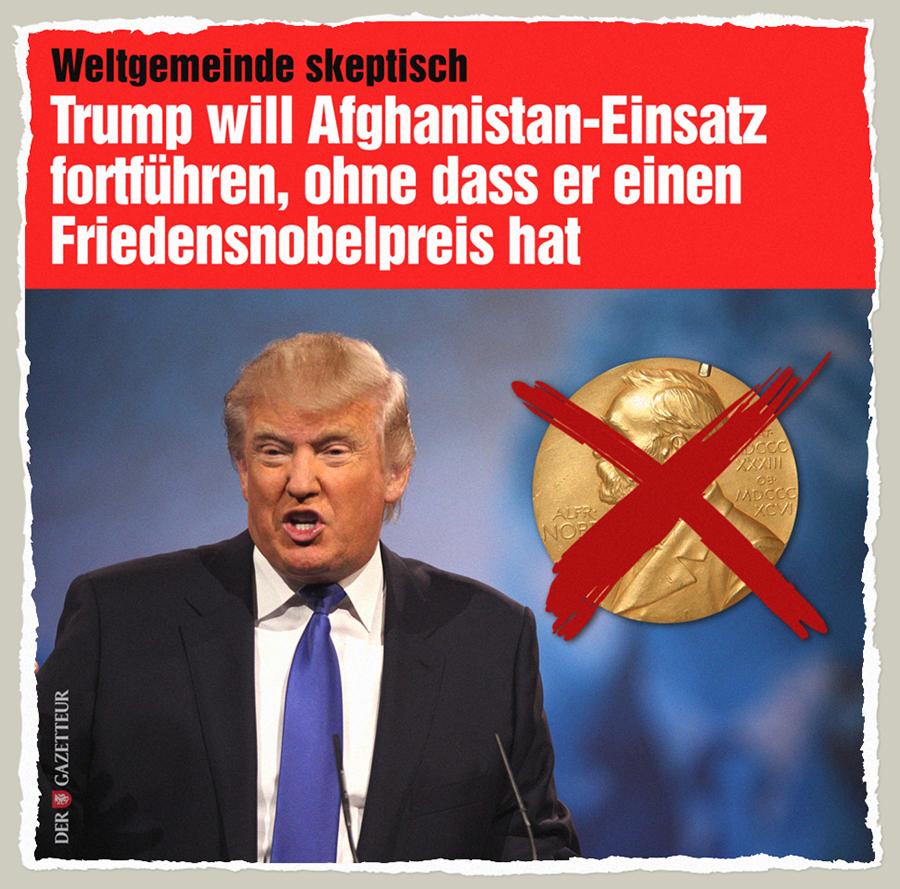 Ohne Friedenspreis - Der Gazetteur