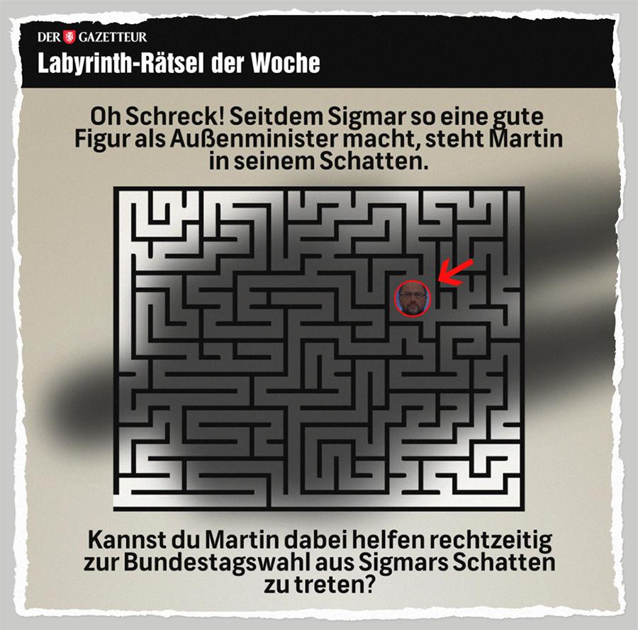 Martins Polit-Irrgarten - Der Gazetteur