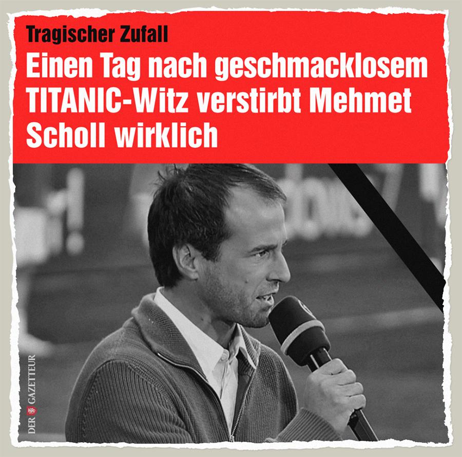 Tragischer Zufall - Der Gazetteur