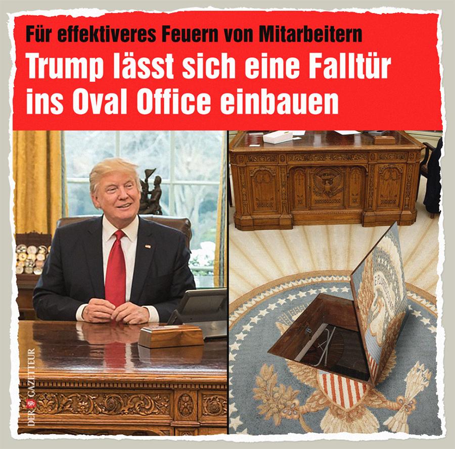 Trumps Falltuer - Der Gazetteur