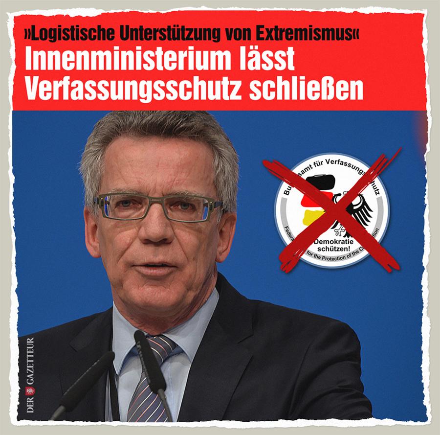 Extrem-Verfassungsschutz - Der Gazetteur