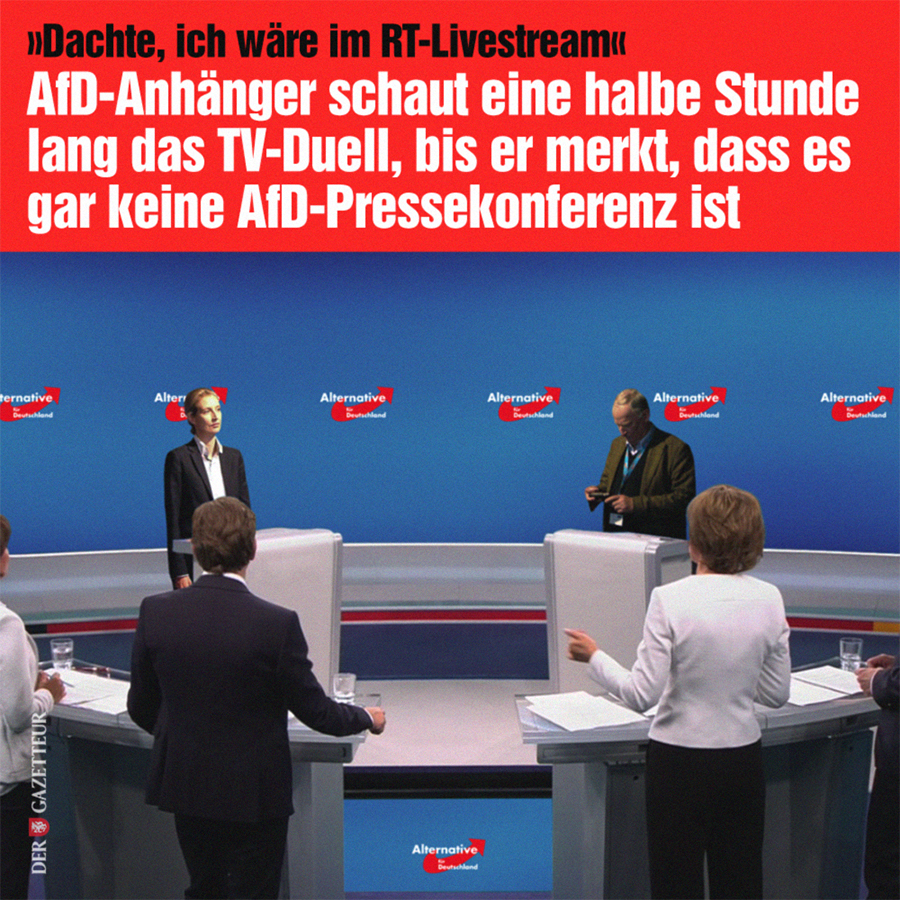 AfD-Duell - Der Gazetteur