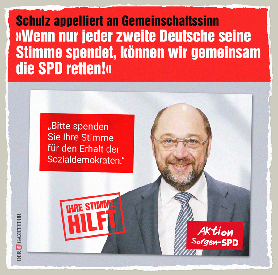 Aktion Sorgen-SPD - Der Gazetteur