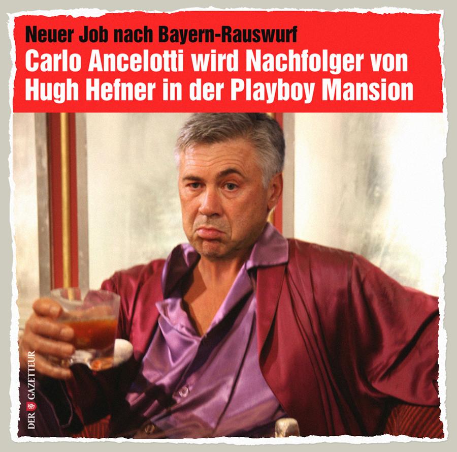 Playboy Ancelotti - Der Gazetteur