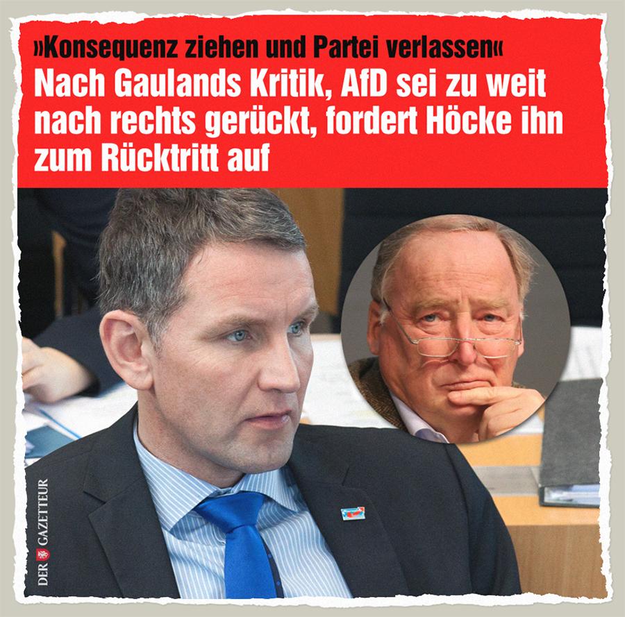 Gauland Ruecktritt - Der Gazetteur