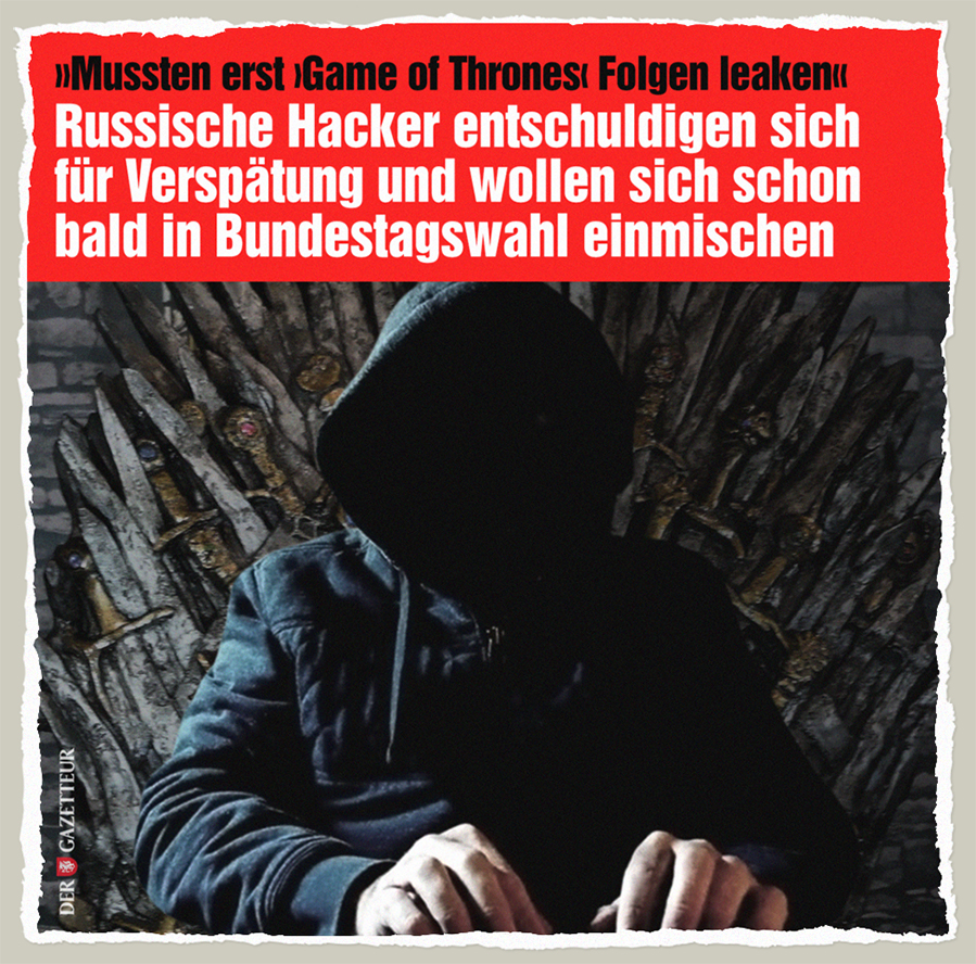 Game of Bundestag - Der Gazetteur