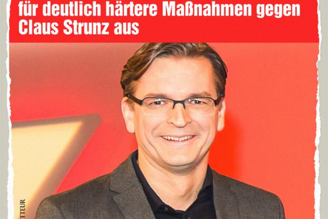 Maßnahmen gegen Strunz - Der Gazetteur