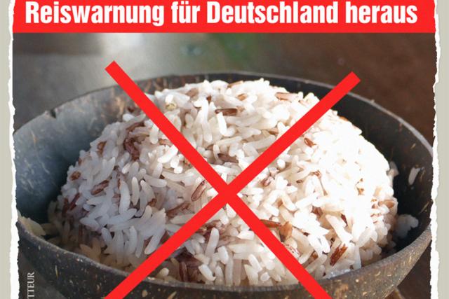 Reiswarnung für Deutschland - Der Gazetteur