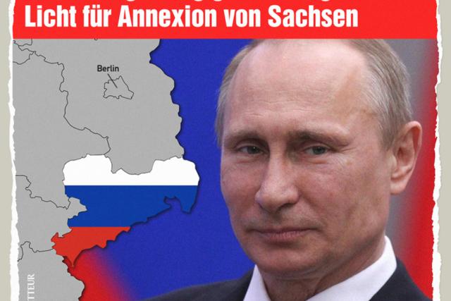 Annexion von Sachsen - Der Gazetteur