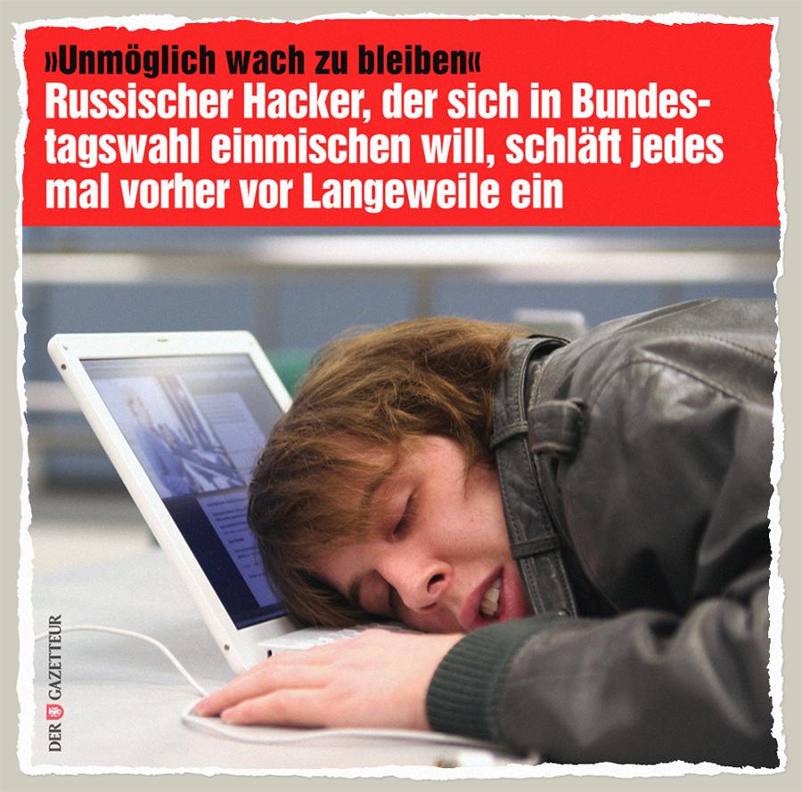 Schläfriger Hacker - Der Gazetteur