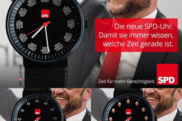 Die neue SPD-Uhr - Der Gazetteur
