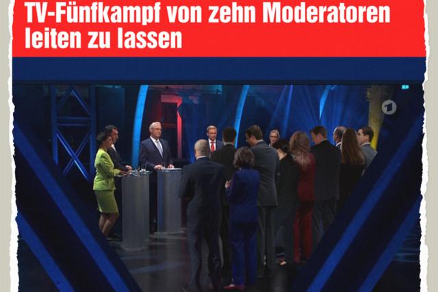 Zehn Fünfkampf-Moderatoren - Der Gazetteur