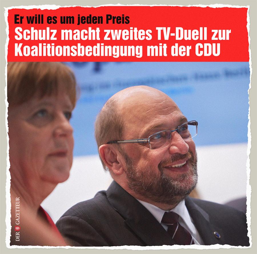 Koalitionsbedingung der SPD - Der Gazetteur