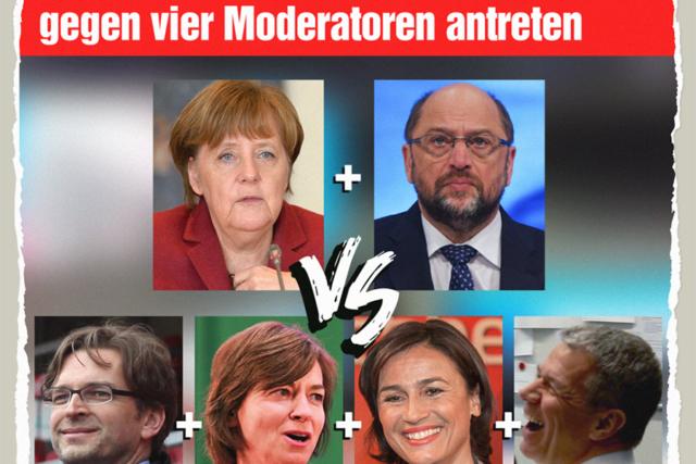 Kanzlerduell in Unterzahl - Der Gazetteur