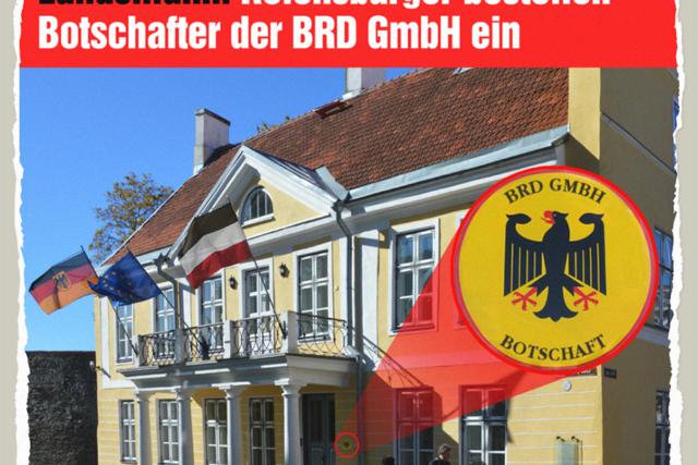 Botschafter der BRD GmbH - Der Gazetteur