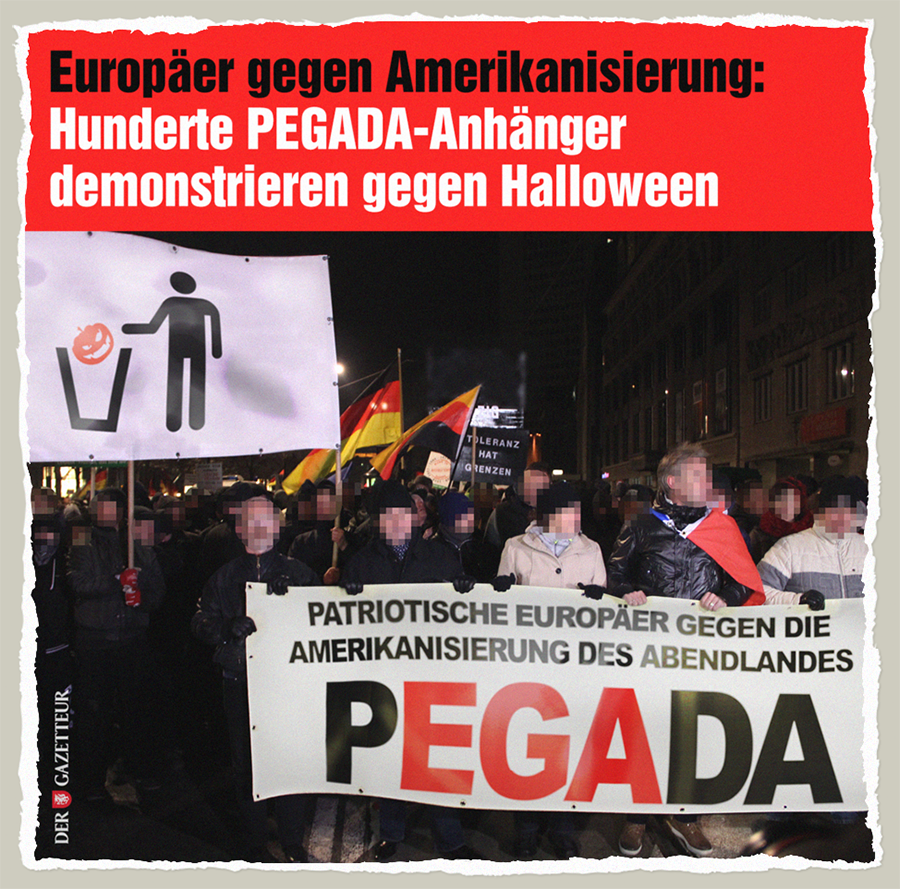 Europaeer gegen Halloween - Der Gazetteur