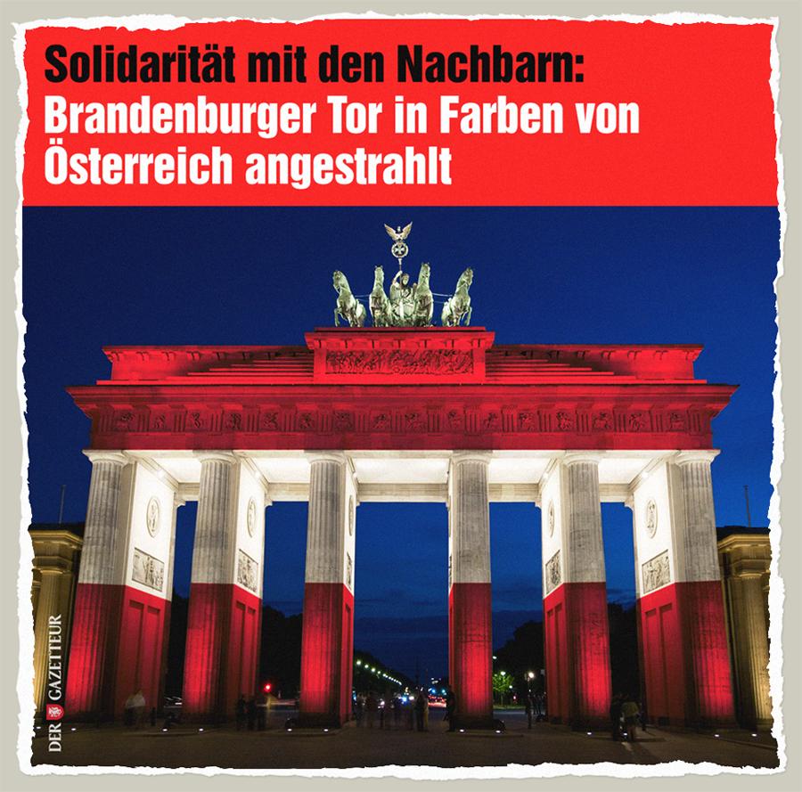 Je suis Oesterreich - Der Gazetteur
