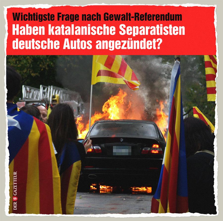 Katalanische Auto-Anzuender - Der Gazetteur