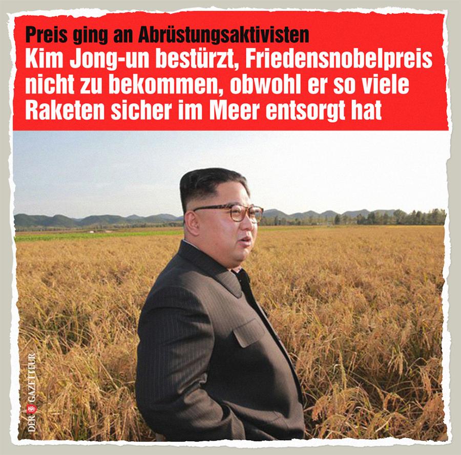 Kim bestuerzt - Der Gazetteur