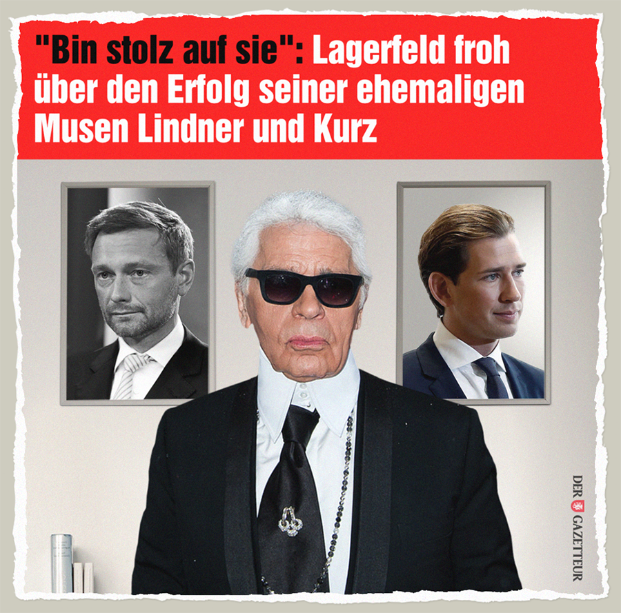 Lagerfelds Musen