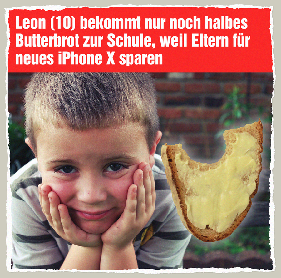Leons halbes Butterbrot - Der Gazetteur