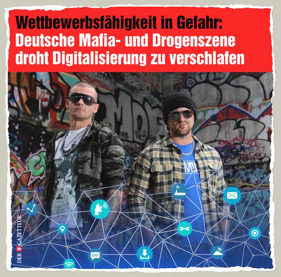Mafia-Digitalisierung - Der Gazetteur