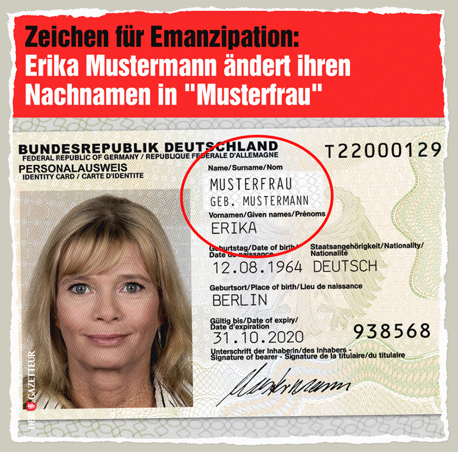 Muster-Emanzipation - Der Gazetteur