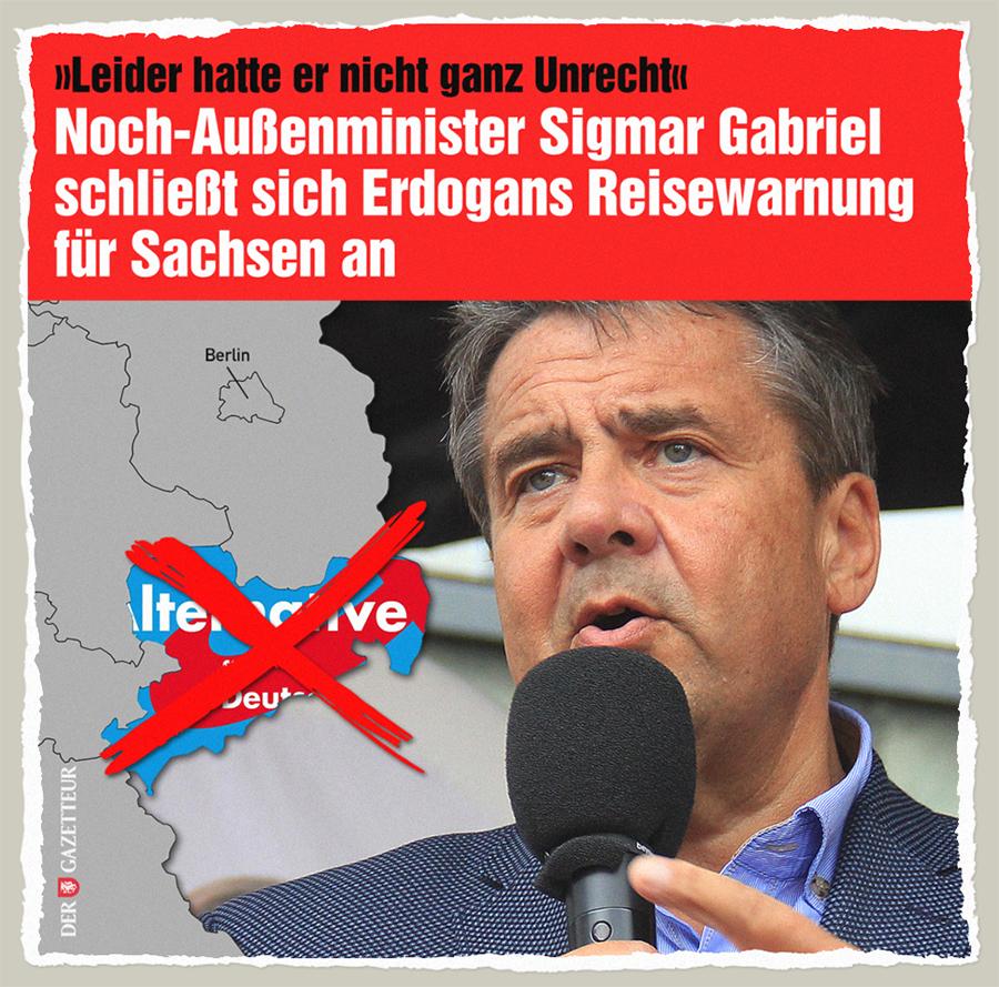 Reisewarnung für Sachsen - Der Gazetteur