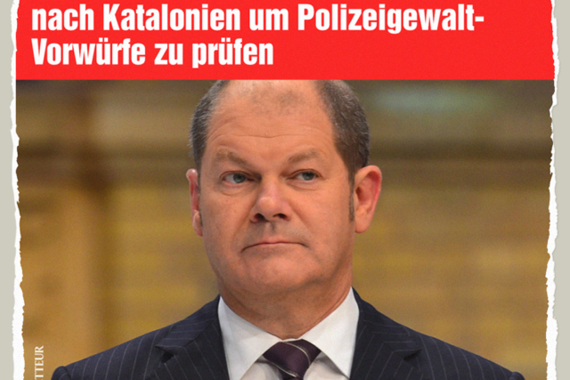 Polizeigewalt-Experte Scholz - Der Gazetteur