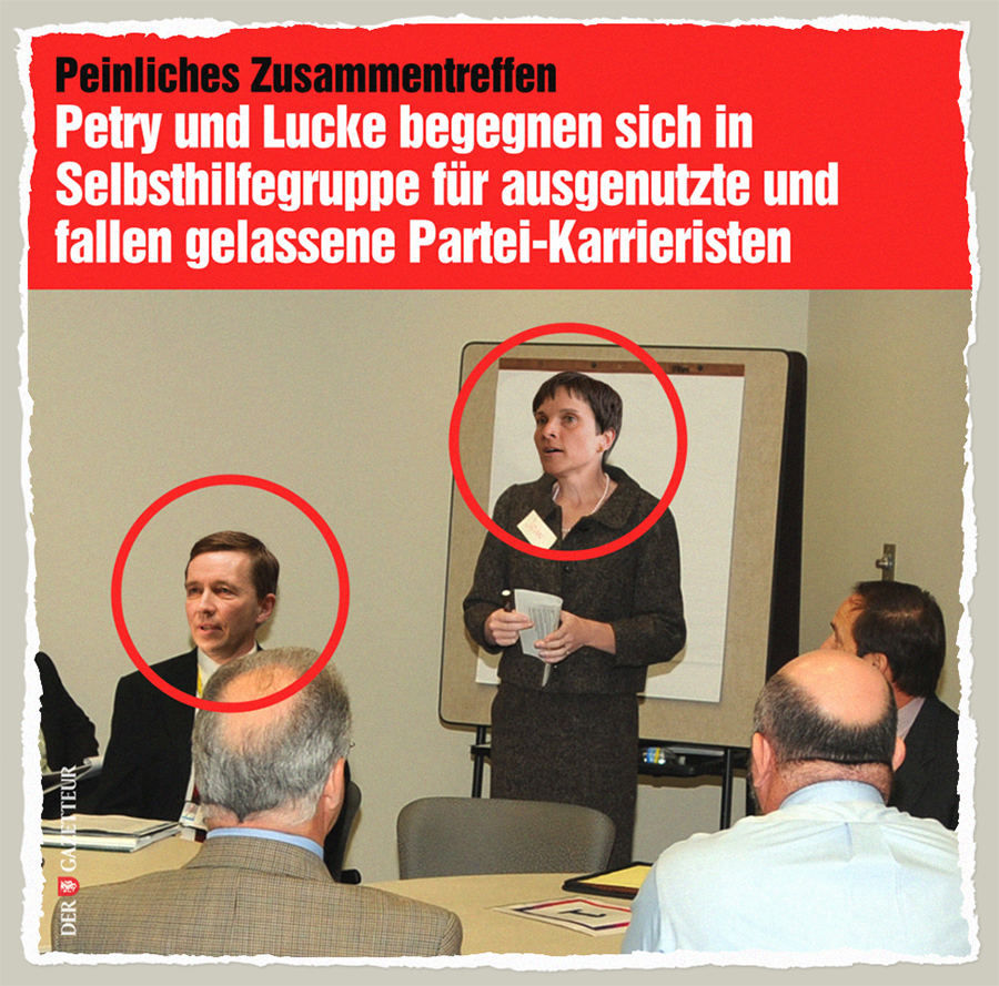 Selbsthilfegruppe für vertriebene Partei-Karrieristen - Der Gazetteur