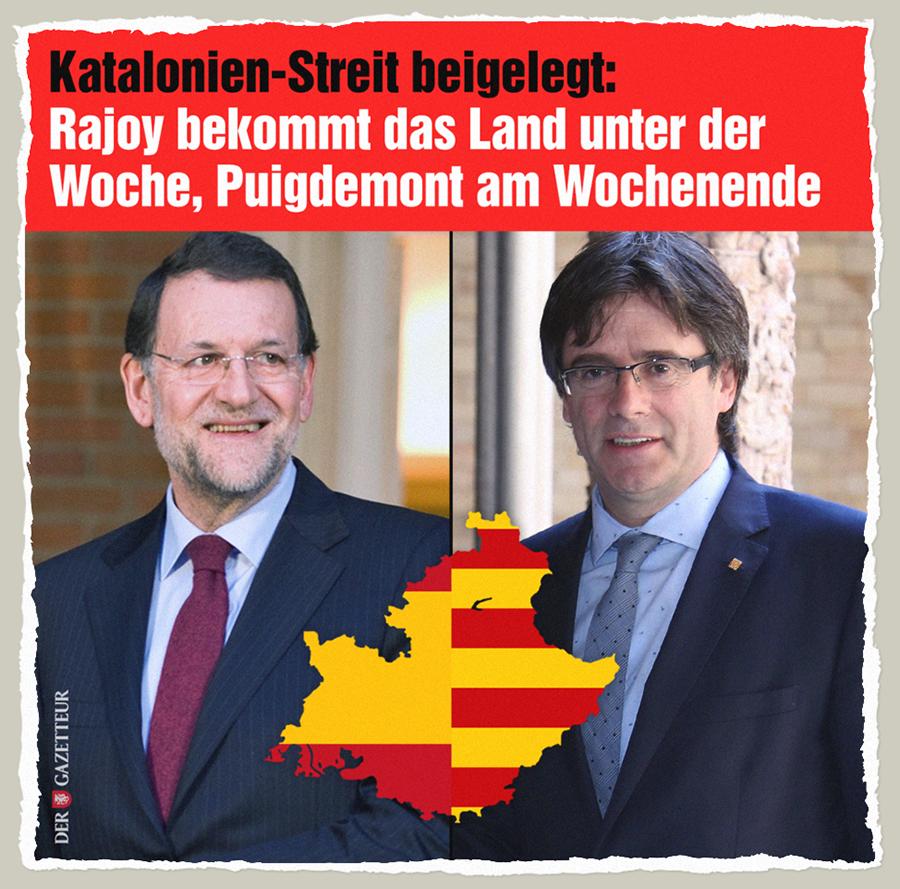 Sorgerechtsstreit Katalonien - Der Gazetteur