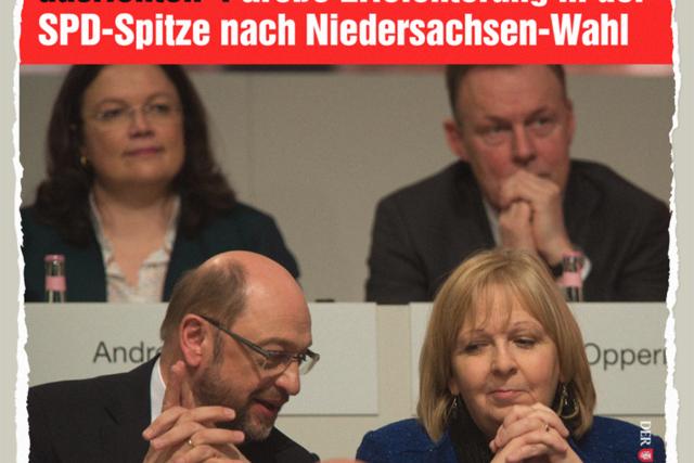 SPD-Neuausrichtung - Der Gazetteur