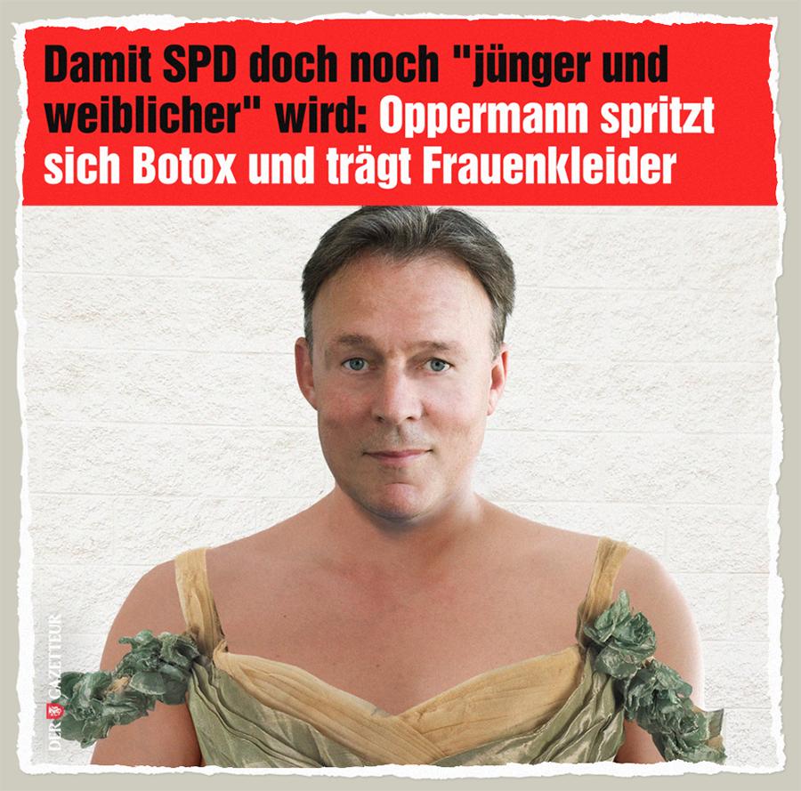 Junge und weibliche SPD - Der Gazetteur