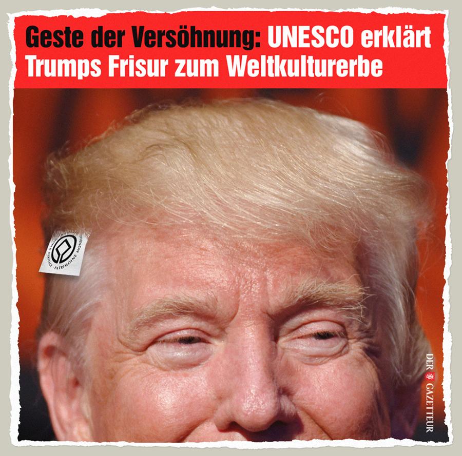 Trumps Weltkulturerbe - Der Gazetteur