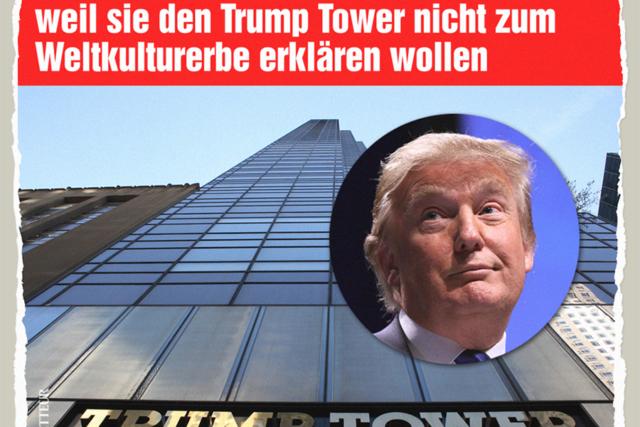 Weltkulturerbe Trump Tower - Der Gazetteur