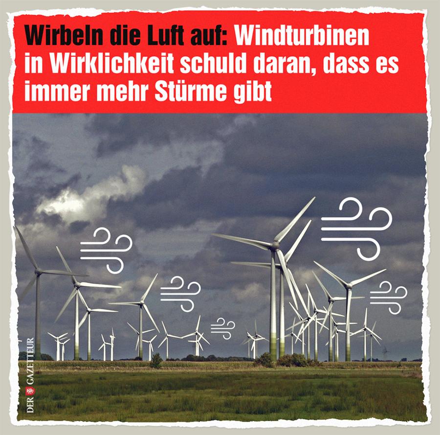 Windturbinen-Stuerme - Der Gazetteur