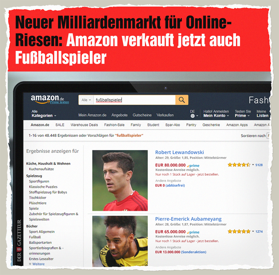 Amazon Athletes - Der Gazetteur
