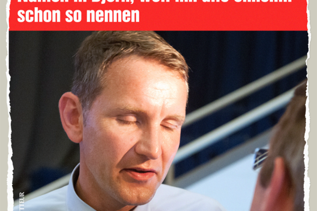 Bernd heisst jetzt Bjoern - Der Gazetteur