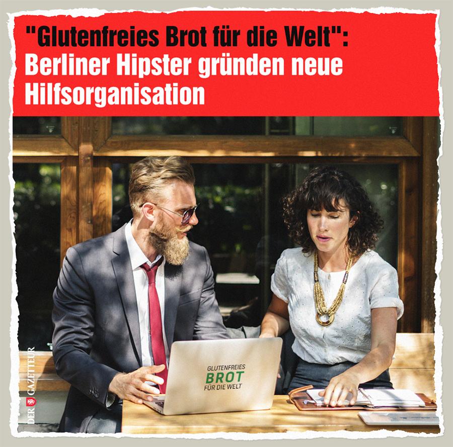 Glutenfreies Brot fuer die Welt - Der Gazetteur