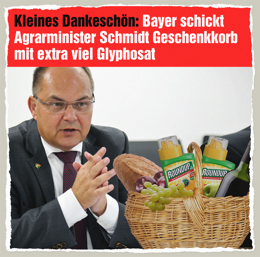 Glyphosat-Geschenkkorb - Der Gazetteur