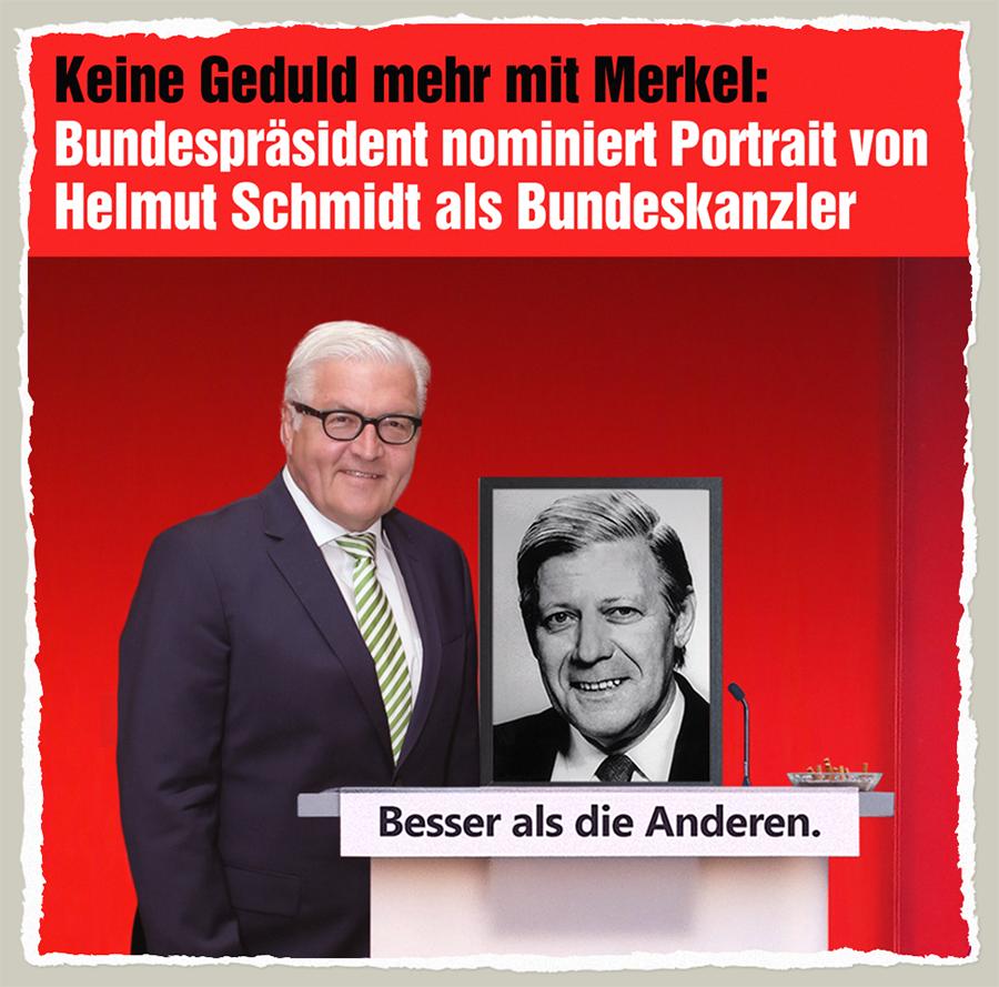 Schmidt Bundeskanzler - Der Gazetteur