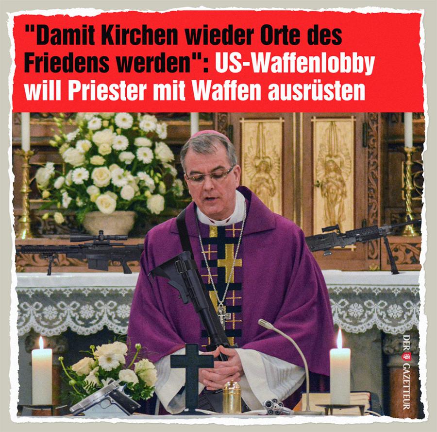 Herdenschutz in Kirchen - Der Gazetteur