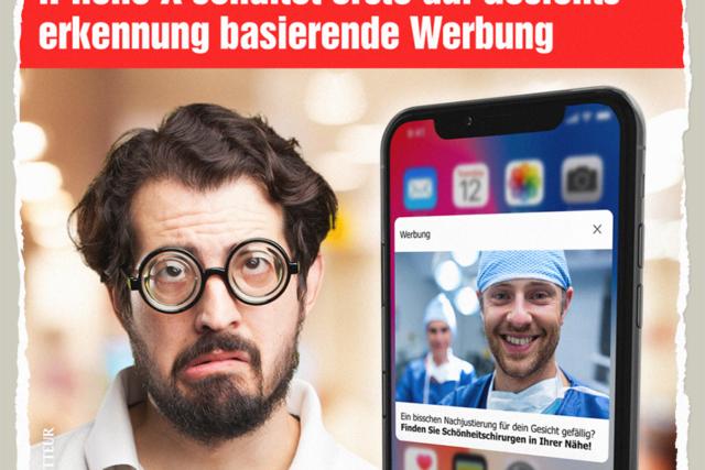Werbung mit Gesichtserkennung - Der Gazetteur