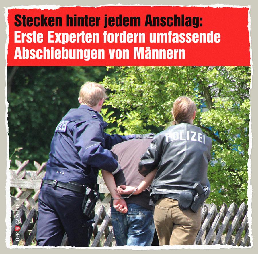 Maenner abschieben - Der Gazetteur