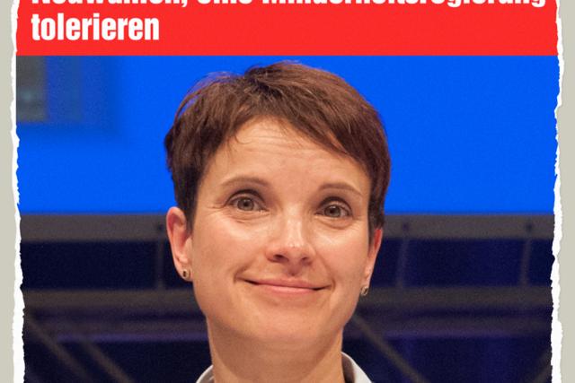 Petry toleriert - Der Gazetteur