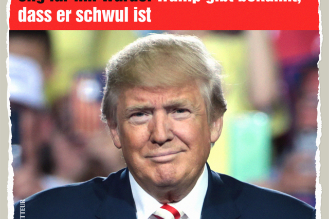 Trumps gut getimtes Outing - Der Gazetteur