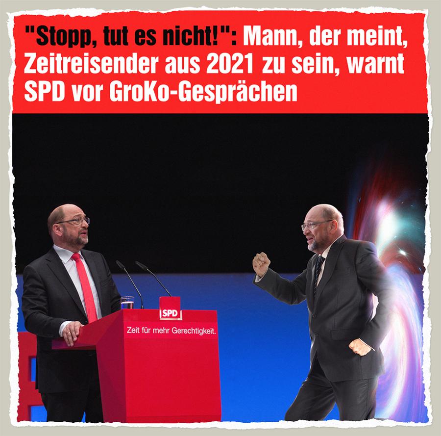 Zeitreisender Schulz - Der Gazetteur