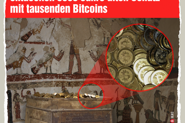 Antiker Bitcoin-Fund - Der Gazetteur
